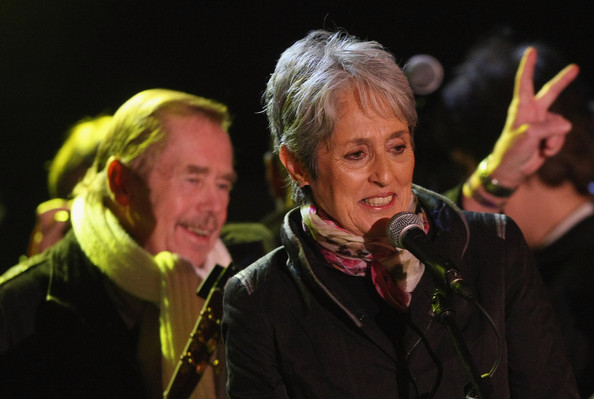 joan baez and vaclav havel