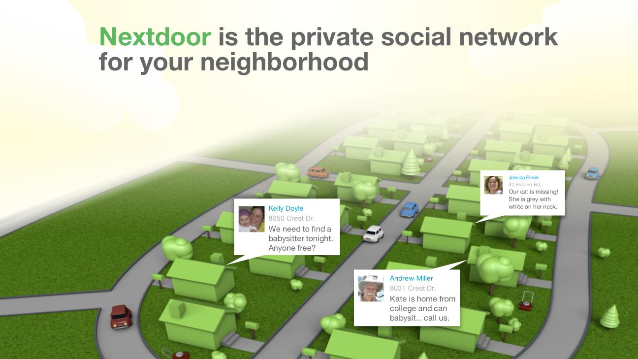 nextdoor neighborhood site